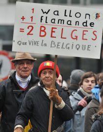 1 Walończyk + 1 Flamand = 2 Belgów