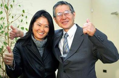 Keiko Fujimori i Alberto Fujimori
