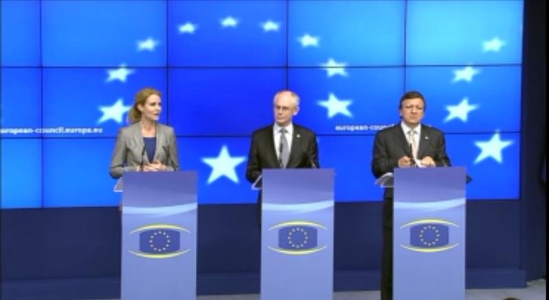 Szczyt UE 28-29 czerwca 2012 r. Konferencja Prasowa; źródło:  http://www.european-council.europa.eu