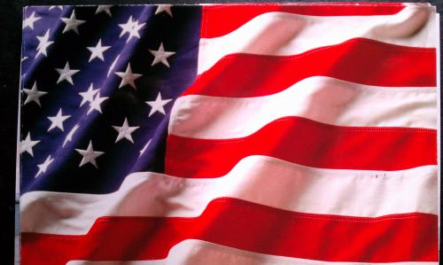 flaga USA, licencja CC