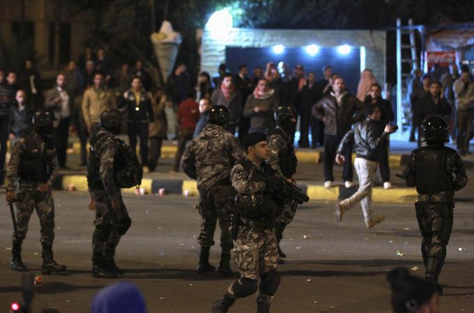 Protesty w Ammnie, 14 listopada 2012 Źródło: Reuters