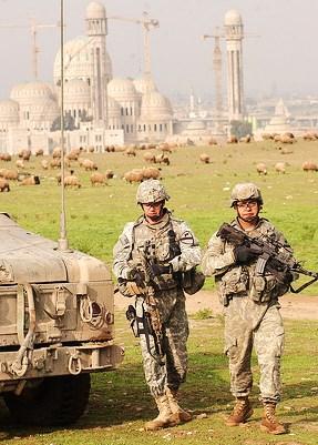 irak, us army licencja CC